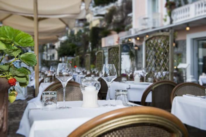 Positano Restaurant Terrace Da Gabrisa